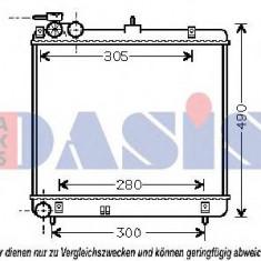 Radiator, racire motor HYUNDAI AMICA 1.1 - AKS DASIS 560047N - Radiator racire KLOKKERHOLM