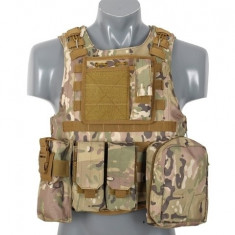 Vesta tactica AAV FSBE Multicamo [8FIELDS] - Echipament Airsoft