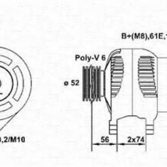 Generator / Alternator SKODA OCTAVIA 1.6 - MAGNETI MARELLI 943355067010 - Alternator auto