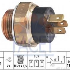 Comutator temperatura, ventilator radiator OPEL CORSA A hatchback 1.5 D - FACET 7.5619 - Termocupla auto