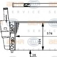 Radiator, racire motor FIAT PUNTO 55 1.1 - HELLA 8MK 376 713-541 - Radiator racire LuK