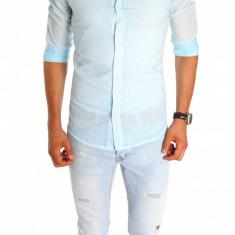 Camasa tip Zara - camasa barbati - camasa slim - camasa fashion - cod 6696, Marime: XXL, Culoare: Din imagine, Maneca lunga