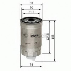 Filtru combustibil Sachs OPEL OMEGA B combi 2.5 TD - BOSCH 1 457 434 105