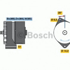 Generator / Alternator VOLVO FL 6 FL 608 - BOSCH 0 120 468 114 - Alternator auto