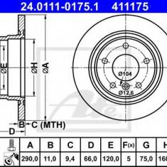 Disc frana BMW 1 116 d - ATE 24.0111-0175.1 - Discuri frana REINZ
