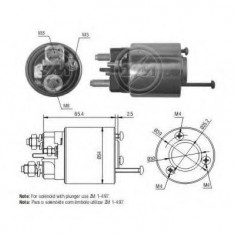 Solenoid, electromotor CITROËN AX 10 E - ERA 227392 - Solenoid Auto
