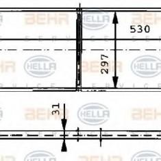 Radiator, racire motor CITROËN CHANSON 1.5 D - HELLA 8MK 376 715-431 - Radiator racire LuK