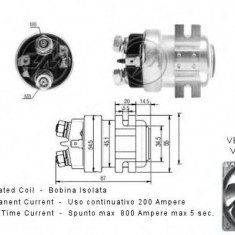 Solenoid, electromotor - ERA 227293 - Solenoid Auto