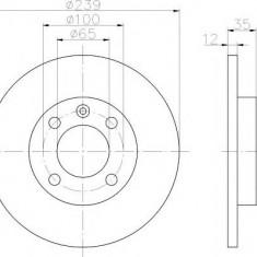 Disc frana - TEXTAR 92010600 - Discuri frana