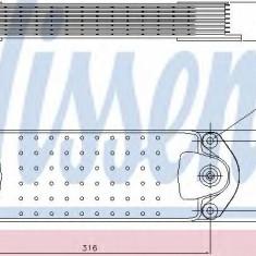 Radiator ulei, ulei motor VOLVO FM FM 300 - NISSENS 90763 - Radiator auto ulei