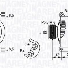 Generator / Alternator FIAT PUNTO 1.2 60 - MAGNETI MARELLI 063377006010 - Alternator auto