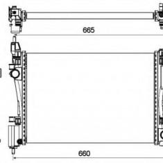 Radiator, racire motor OPEL CORSA D Van 1.2 - NRF 53115