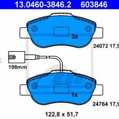 Placute frana REINZ FIAT 500 1.3 D Multijet - ATE 13.0460-3846.2