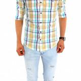 Camasa tip Zara  - camasa barbati - camasa slim - camasa fashion - cod 6714