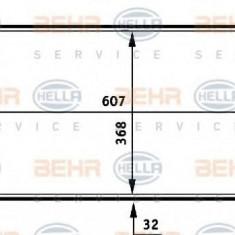 Radiator, racire motor FORD SIERRA hatchback 1.6 - HELLA 8MK 376 706-671 - Radiator racire LuK