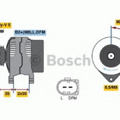 Generator / Alternator VW POLO 1.2 - BOSCH 0 986 049 101 - Alternator auto