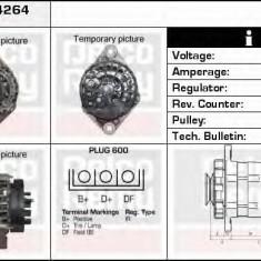 Generator / Alternator OPEL ASTRA H Van 1.9 CDTI - DELCO REMY DRA4264 - Alternator auto