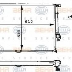 Radiator, racire motor BMW 5 limuzina 530 i - HELLA 8MK 376 713-071 - Radiator racire LuK