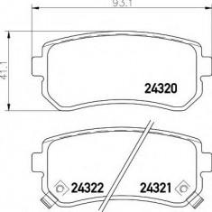 Placute frana ATE HYUNDAI ELANTRA GT 1.4 - HELLA 8DB 355 006-961