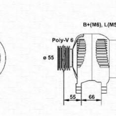 Generator / Alternator VOLVO V40 combi 1.9 TD - MAGNETI MARELLI 943354083010 - Alternator auto