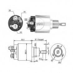 Solenoid, electromotor - ERA 227840 - Solenoid Auto