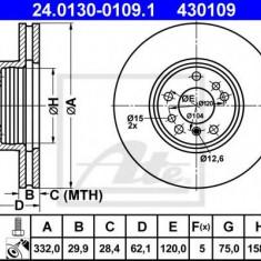 Disc frana BMW X5 4.4 i - ATE 24.0130-0109.1 - Discuri frana REINZ