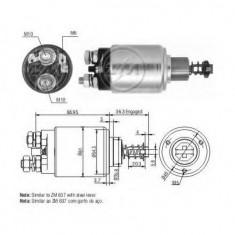 Solenoid, electromotor - ERA 227453 - Solenoid Auto