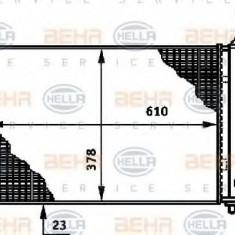 Radiator, racire motor CITROËN ZX 1.9 D - HELLA 8MK 376 717-291 - Radiator racire LuK