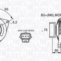 Generator / Alternator FORD FOCUS 1.8 DI / TDDi - MAGNETI MARELLI 063377413010 - Alternator auto