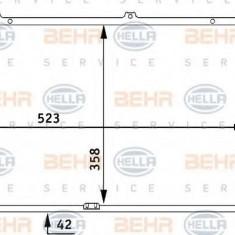 Radiator, racire motor OPEL ASTRA F hatchback 1.7 TDS - HELLA 8MK 376 711-751 - Radiator racire LuK