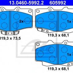Placute frana REINZ TOYOTA LAND CRUISER - BUNDERA (PZJ7_, KZJ7_, HZJ7_, BJ7_, LJ7_, RJ7 2.4 TD - ATE 13.0460-5992.2