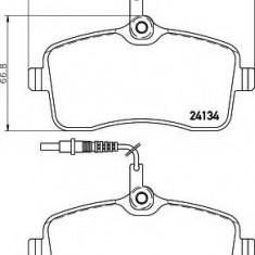 Placute frana ATE PEUGEOT 407 limuzina 2.0 Bioflex - HELLA 8DB 355 011-481