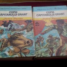 JULES VERNE - COPIII CAPITANULUI GRANT 2 VOL - Carte de aventura