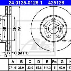 Disc frana TOYOTA ESTIMA 2.4 - ATE 24.0125-0126.1 - Discuri frana REINZ