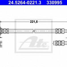 Furtun frana REINZ TOYOTA RUNX 1.8 VVTL-i TS - ATE 24.5264-0221.3
