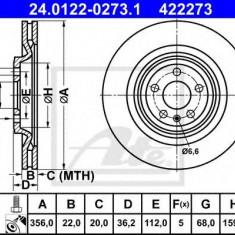 Disc frana AUDI A7 Sportback 3.0 TDI - ATE 24.0122-0273.1 - Discuri frana REINZ