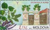 MOLDOVA 2016, Sarbatori crestine, Duminica Mare, Flora, serie neuzata, MNH, Nestampilat