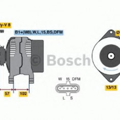 Generator / Alternator VOLVO FH 420 - BOSCH 0 124 655 021 - Alternator auto