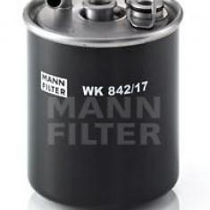 Filtru combustibil MERCEDES-BENZ A-CLASS A 160 CDI - MANN-FILTER WK 842/17