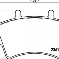 Placute frana ATE RENAULT MASTER II Van 2.5 D - HELLA 8DB 355 010-021