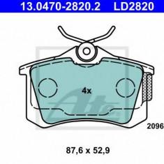 Placute frana REINZ SEAT LEON 1.6 TDI - ATE 13.0470-2820.2