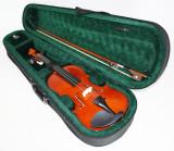 Set vioara clasica normala, incepatori marime 4/4 Noua arcus + husa