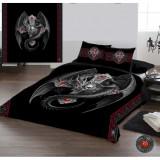 Set lenjerie de pat din bumbac Dragon gotic 220x230