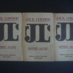 JACK LONDON - OPERE ALESE  3 volume