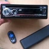 Cd player radio auto JVC KD-G632  usb mp3  telecomanda