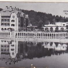 bnk cp Ocna Sibiului - Pavilionul central - circulata