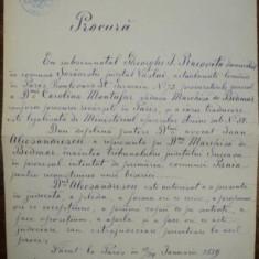 GHEORGHE I RACOVITA, PROCURA, SEMNATA DE VASILE ALECSANDRI