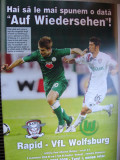 Rapid Bucuresti - WfL Wolfsburg (2 octombrie 2008) + foaie de joc