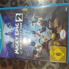 Joc Micky Epic 2 - Jocuri WII U, Actiune, Toate varstele, Single player