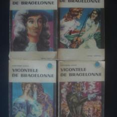 ALEXANDRE DUMAS - VICONTELE DE BRAGELONNE 4 volume - Roman istoric